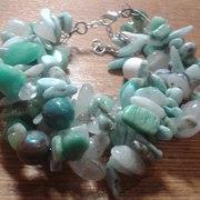 Браслеты,  кольца и серьги из натуральных камней