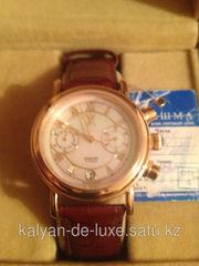 Продам новые мужские золотые часы