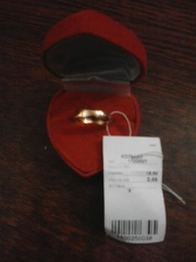 Золотое кольцо,  обручальное