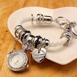 Часы-подвеска с браслетом в стиле «PANDORA»